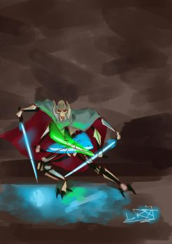 General Grievous by Teal-Lorca