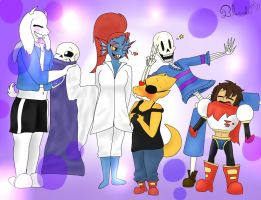 Undertale  -  Swap clothes 2 by Bluecake80