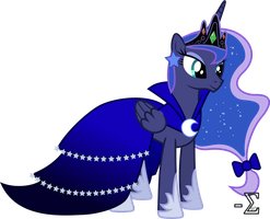 Princess Luna's Gala Dress by 90Sigma