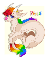 Pride Noodle - Adopt Auction (CLOSED) by Star-Nerd