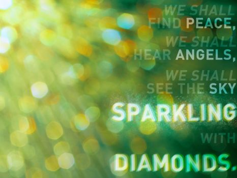 Sparkling with Diamonds by t1nus