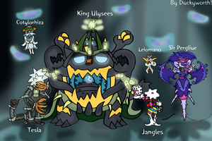 Pokemon Tales - Ultra Beast Characters 1 by Duckyworth