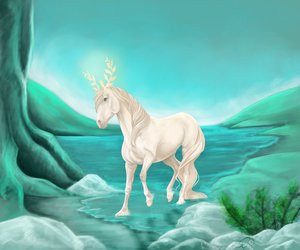 Lady of the Mountain by HylianWolfLink