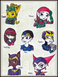 Ratchet and Clank: Girl Power! by xTH3Mx