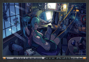 Miku's Hut - Music Visualizer by ButzYung