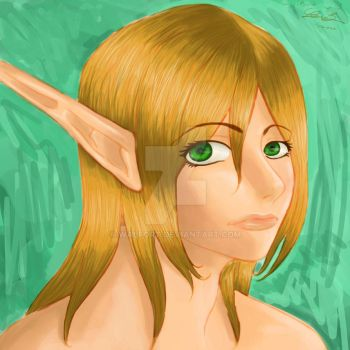 Natural Elf by walfort
