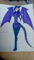 Purple Dragoon Diana by Brightsworth-Heroes