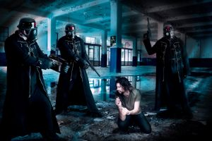 Judge, jury and executioner by Vilk42