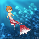 Contest Entry!~In The Sea~ by Thestar78956
