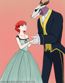 The beauty and the beast by ohmyjaded