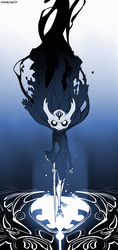 The Hollow King - Hollow Knight Fanart by Zummeng