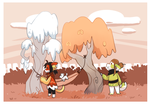 Monthly time tree : Hui 6 + Ye 1 by Tigress144