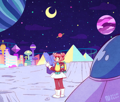 Space Travel by Nana-Naexii