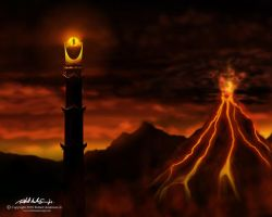 The Eye of Sauron by RobAndersonJr