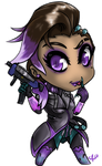 Stream stuff - Sombra by Aggrotard
