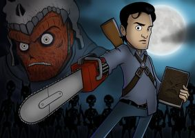 Request Tajm - Evil Dead by ebbewaxin