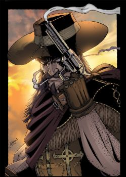 Gunfighter Colored by CliffEngland