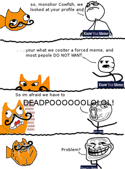 Ze Mostash cowfish IN  Meme Rage by rattyinspace
