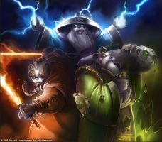 Warcraft - Storm, Earth and Fire by SamwiseDidier