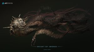 Beneath the Waves - Knight of swords by TSABER