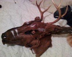 Western Stag Mask by FenrisMau