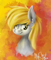 Derpy Painty by AllyClaw