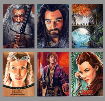 FinalAPs for Hobbit card set by Kapow2003