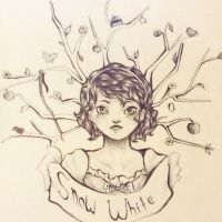 Snow White by Lemonthrower