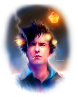 Dylan Moran and The Cupcake of Fate by erebus-odora