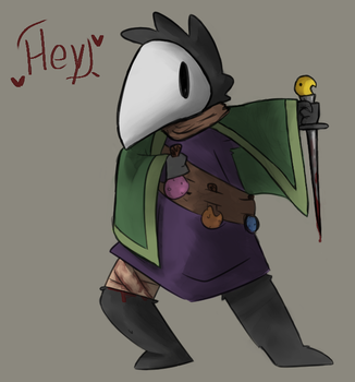 plague doctor thing by Keefachu