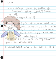 a whole lotta notes and a gay turtle by Meep879