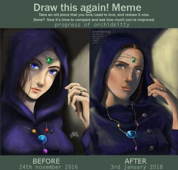 Meme Before And After By Bampire by orchidkitty