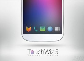 TouchWiz 5 Concept : Icon Pack by KevinMoses