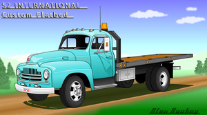 '52 IH Custom Flatbed-version2 by SHOTGUN12