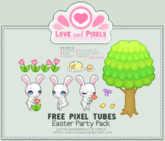 Pixel - Easter Party Tube Pack by firstfear