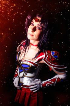 Warrior Sailor Mars Cosplay by YuukoScarlet