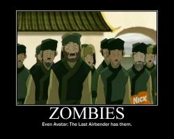 Zombies Demotivational by Ever-smiling