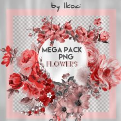 Mega pack flowers by iKoci