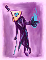 Bill Cipher by AAOlsonDesign