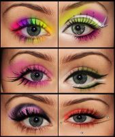 Eye make up pack by stuckonrepeat