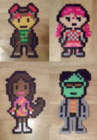 The Perler Psychonauts by VickyViolet