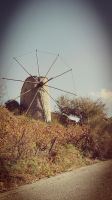 Old windmill by loveautumnandnature