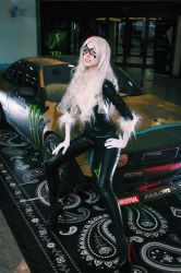 Marvel Black Cat cosplay by MightyRaccoon by LetzteSchatten-stock