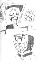 Transformers Animated Sketch-2 by MSipher