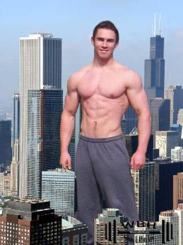 Giant In Chicago by wannabehuge