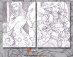 Patreon Sketch Cards - A Private Performance by AngelaSasser