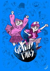 Gravity Falls v02 by evelmiina