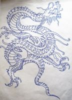 Oriental Dragon by MarmiteBoosh