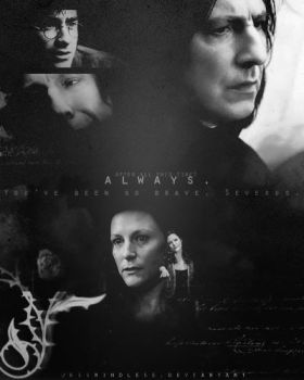Always - Severus and Lily by JessMindless