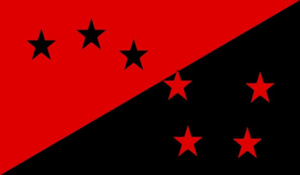 Request: Anarchist Starry Plough Flag -Fictional- by ColumbianSFR